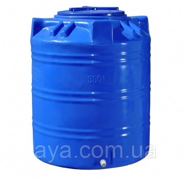 Пластиковая емкость для воды вертикальная 300 (л)