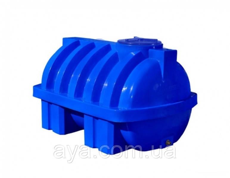 Емкость для воды горизонтальная круглая  350 (л)