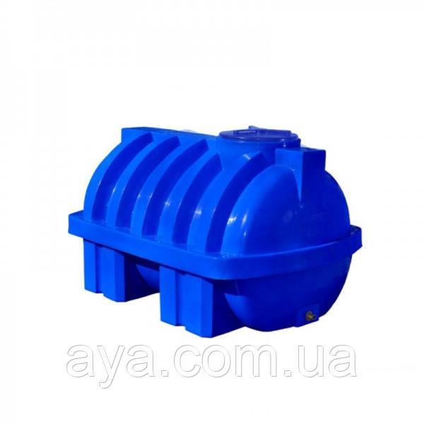 Пластиковая емкость для воды горизонтальная 3000 (л)