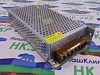 Блок питания 150W, 12V, 12.5А (150Вт, 12В) для светодиодных лент, модулей, линеек MR-150-12