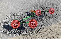 Грабли для мототрактора «Солнышко» ГВР-4У(усиленные), фото 1