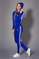 Молодежный спортивный костюм. Код модели КС-14. Цвет электрик с белым.