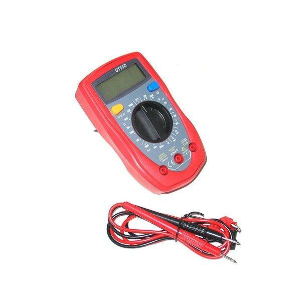 Цифровой мультиметр UT33D DT с подсветкой дисплей