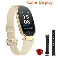 Женские умные смарт часы наручные SMART WATCH GOLD + ПОДАРОК черный ремешок к часам
