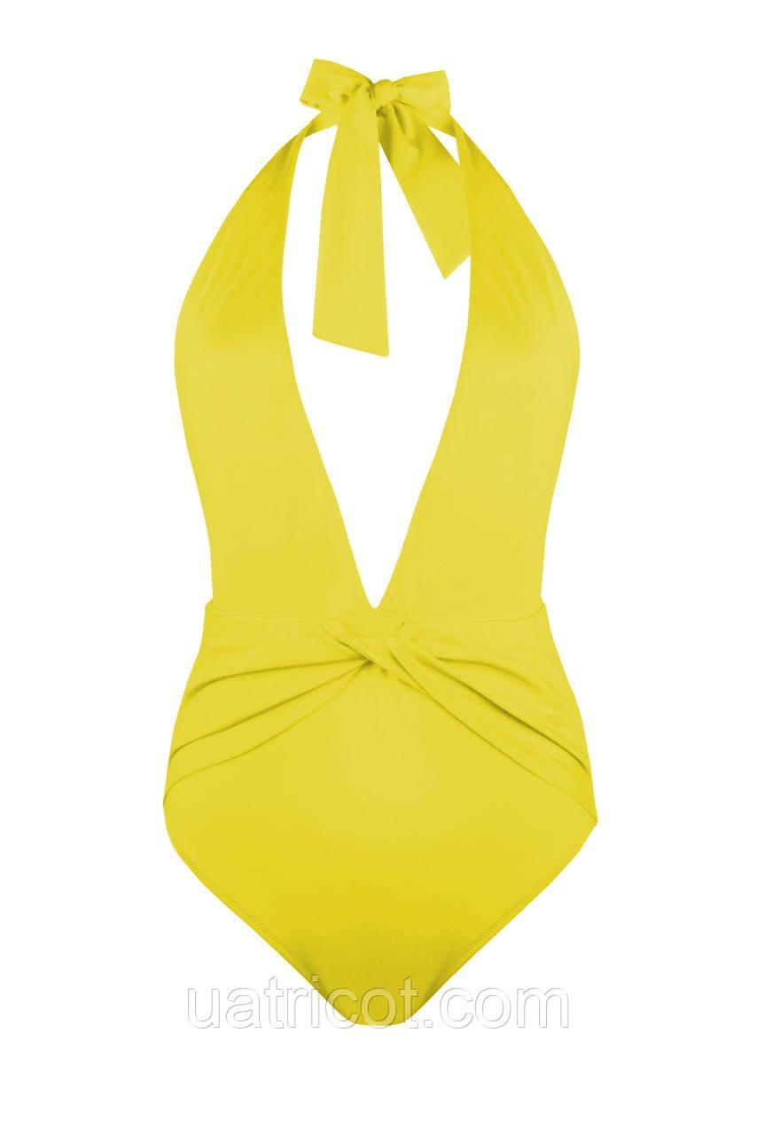 Купальник женский KIFA пландж К-872 желтый