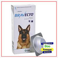 Таблетки Bravecto (Бравекто) 20-40 кг от блох и клещей для собак