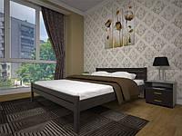Ліжко з натурального дерева Класика 90*200