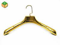 Вешалка для одежды с золотым напылением, мужская