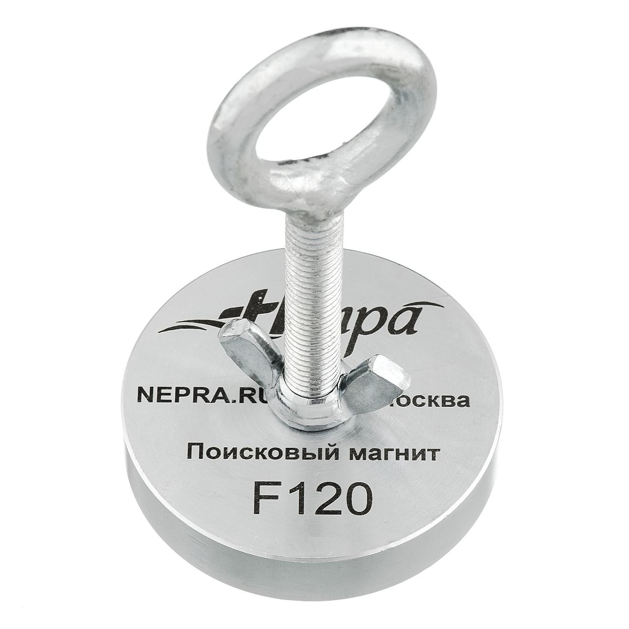 Поисковый магнит Непра F120 кг Односторонний неодимовый