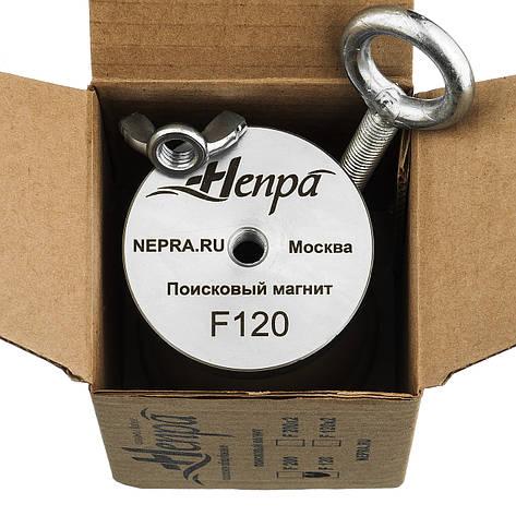 Поисковый магнит Непра F120 кг Односторонний неодимовый, фото 2
