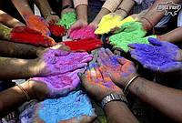 Сухі фарби Холі (Гулал)