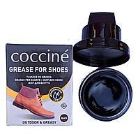 Воск Черный Кочине Coccine для гладкой кожи с губкой 50мл