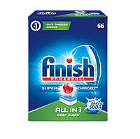 Таблетки д/мытья посуды в посудомоечной машине Finish Powerball All-In1 63+3=66 шт Regular