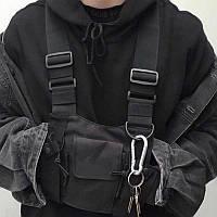 Сумка нагрудная честриг mod.DESTROY сумка жилет, фото 1