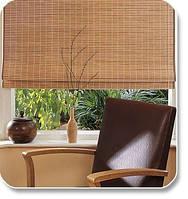 Бамбуковые натуральные экологические ролеты для окон