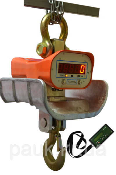 Весы крановые XZH-15t, весы с термощитом