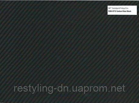 Пленка под карбон 3M Scotchprint 1080 CF-12 черная, фото 2
