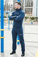 Мужской синий спортивный костюм Армор | Мужской спортивный костюм трикотажный , фото 1