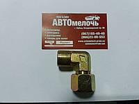 Угольник резьбовой М22х1.5 наружная - М22х1.5 гайка внутренняя