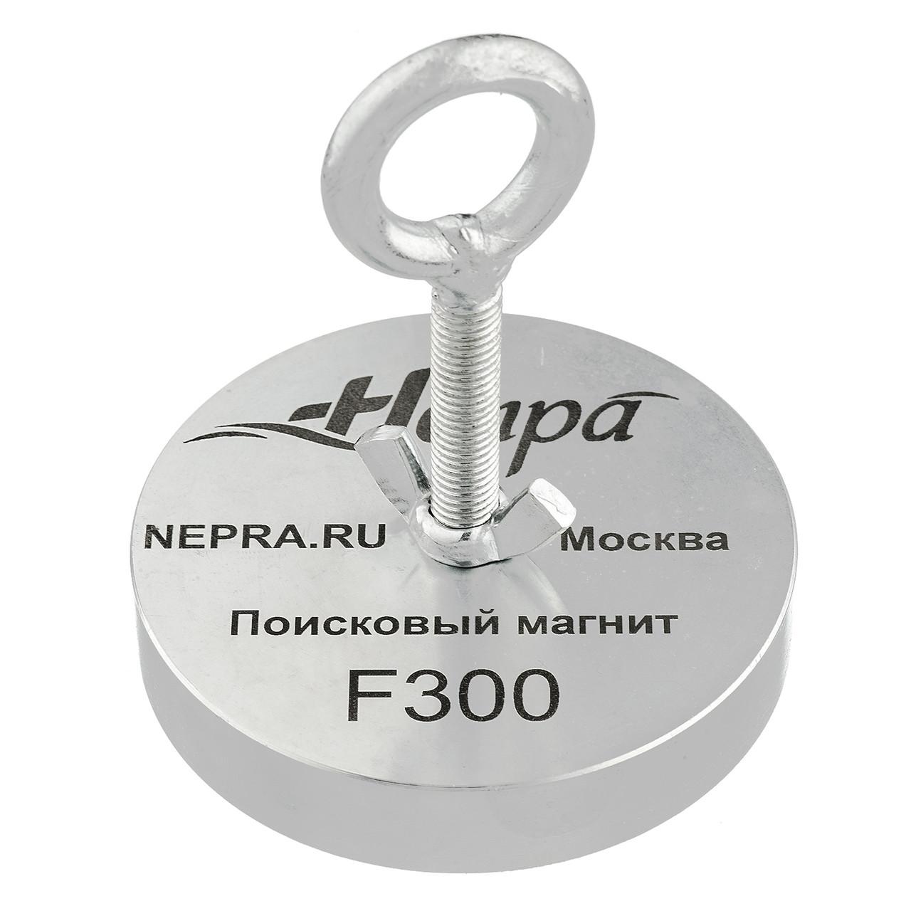Поисковый магнит F300 Односторонний Непра