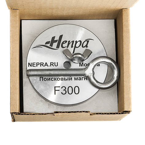 Поисковый магнит Непра F300 кг Односторонний неодимовый, фото 2