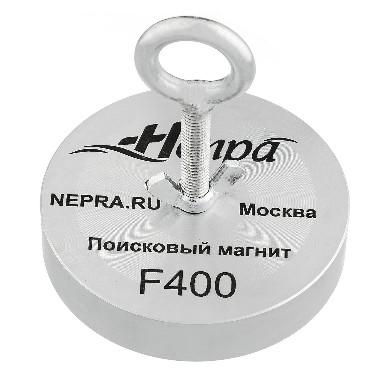 Поисковый магнит F400 Односторонний Непра