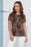 Легкая леопардовая блузочка