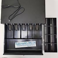 Денежный ящик СD-4141 Black Черный 24В, фото 1