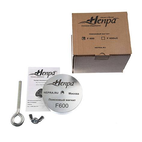 Поисковый магнит F600 Односторонний Непра, фото 2