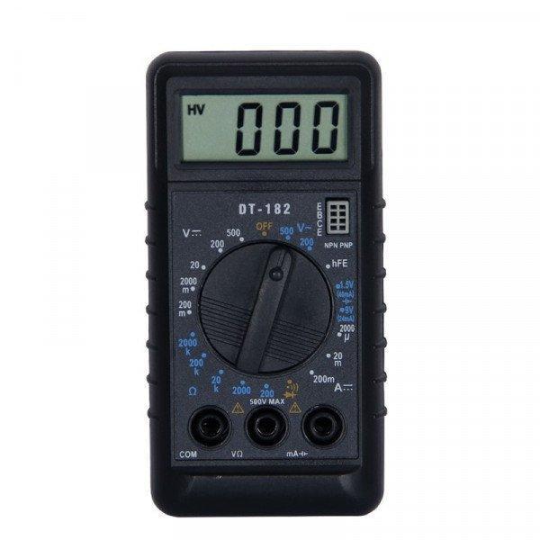 Цифровий мультиметр Digital DT182 портативний, компактний