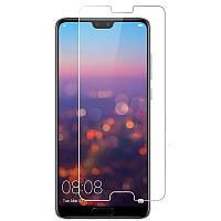 Защитное противоударное стекло для телефона  Huawei P20 (Хуавей, стекло, стекло для смартфона)