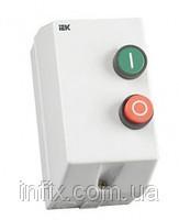 Контактор КМИ-11860 18А 220В (в оболочке с индик.)