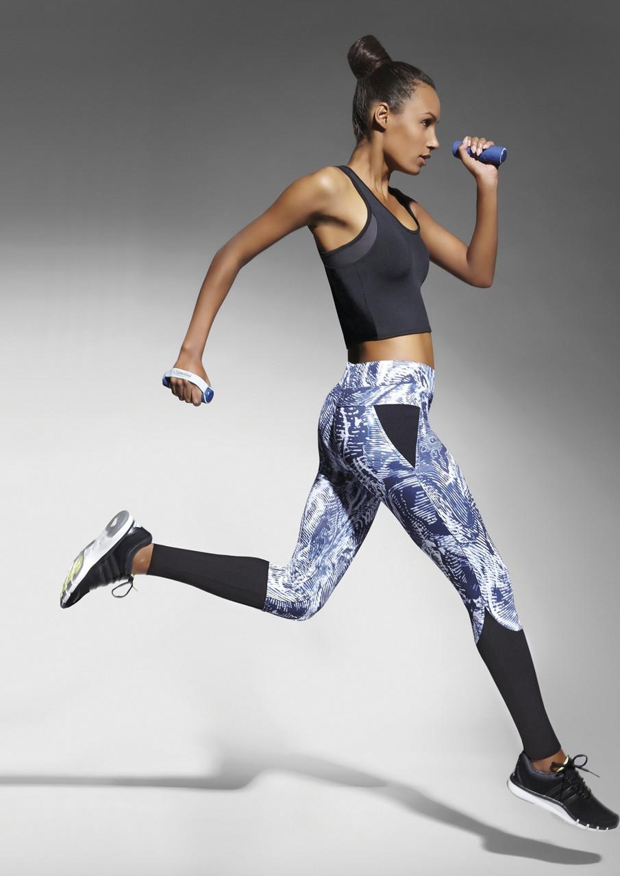 Спортивные женские легинсы BasBlack Trixi (original), лосины для бега, фитнеса, спортзала