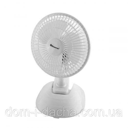 Вентилятор настольный на прищепке  Domotec MS-1623, 2 режима