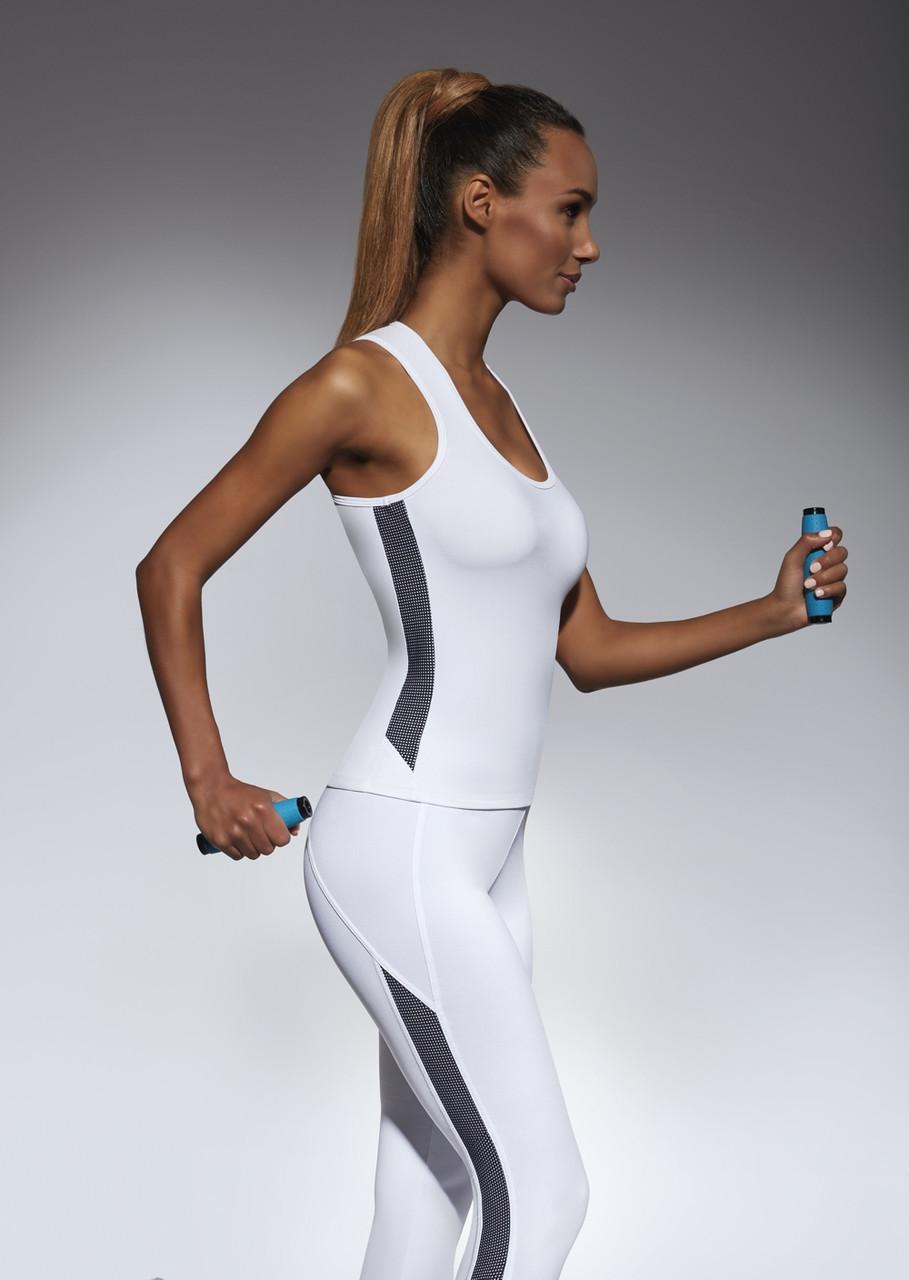 Спортивный женский топ BasBlack Imagin-top 50 (original), майка для бега, фитнеса, спортзала