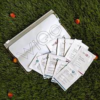 Набор семплов, пробников саше крем для сухой / гипер сухой кожи, производство WIQo, 10шт
