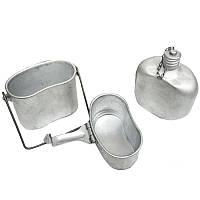Комбинированный котелок ВДВ (фляга, котелок и миска), фото 1