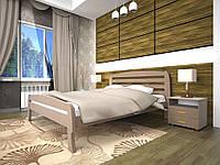 Ліжко з натурального дерева Нове 2 (140*200)