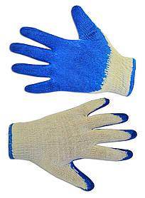 Перчатки рабочие Technics вязаные с латексным покрытием L (16-052)