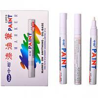 Карандаш перманентный лак-маркер, белый 2,8 мм Рукоятка 14-810 (14-810)