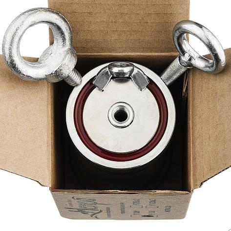 Поисковый магнит Непра 2F120 кг Двухсторонний неодимовый, фото 2
