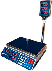 Весы торговые электронные, 15 кг ВТД-ЕЛ(F902H-15EL)