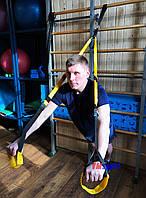 Петли TRX (трх петля) многофункциональный тренажер для фитнеса VMSport (sp-0009)