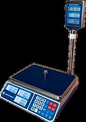 Торговые электронные весы, 15 кг ВТД-СЛ(F902H-15СL) Днепровес