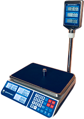 Торговые электронные весы, 6 кг ВТД-СЛ(F902H-6СL)
