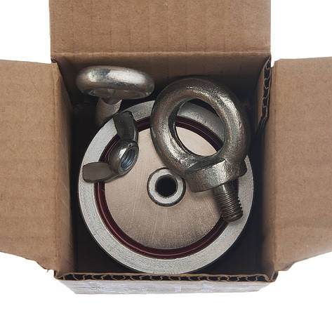 Поисковый магнит Непра 2F200 кг Двухсторонний неодимовый, фото 2