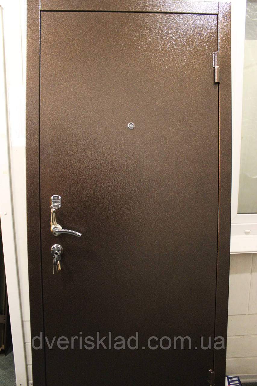 Двері броньовані, вуличні, теплі 2мм. модель Граніт. Ваш розмір і комплектація.