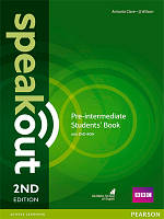 Speakout 2nd Edition. Pre-Intermediate Student's Book and DVD Pack