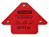 Магнитный фиксатор для сварки 85х120 мм, углы 45°, 90°, 135° Technics (12-160)