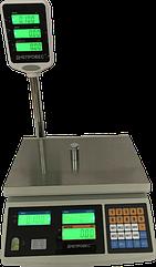 Электронные весы для торговли, 15 кг ВТД-ЕД F902H-15EC